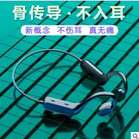 新品跨境私模骨传导概念蓝牙耳机无线挂耳式不入耳运动防水头戴式