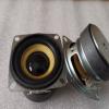 供应52MM方形外磁橡胶边4欧3W音响喇叭2寸16芯45磁高品质扬声器