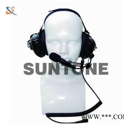 对讲机重型头戴耳机 抗噪耳机战术耳机 超保真