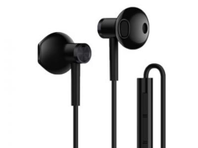 小米BRE01JY双单元半入耳式耳机 安卓手机男女生线控音乐耳塞通用