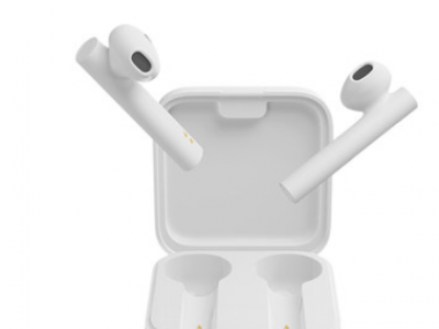 小米真无线蓝牙耳机Air2 SE双耳运动适用于华为苹果官方半入耳