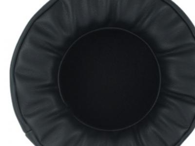 厂家批发定制黑色加厚蛋白皮记忆绵立体异形全包耳头戴式大耳机套