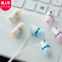 耳塞耳机入耳式 iPad手机电脑可用舒适耳塞有线耳机电镀耳机现货