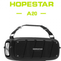HOPESTAR-A20 2020新款无线蓝牙音箱大功率插卡带麦克风塑料音响
