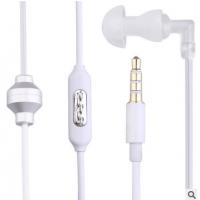 恒爵KY-011特工裸线手机耳机 防辐射线控空气管单边带麦手机耳机