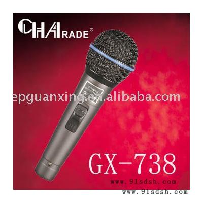 供应CHAradeGX-738麦克风话筒直招代理GX-738