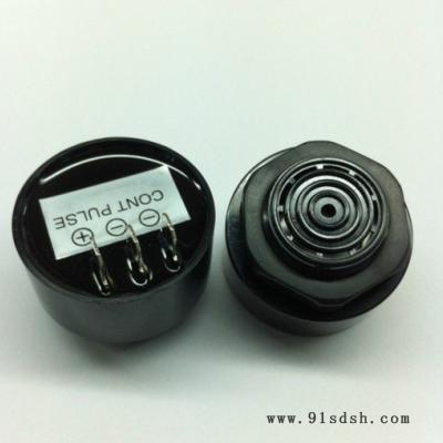 秀听XTI-4310三脚并排蜂鸣器 压电有源高分贝蜂鸣器 防水蜂鸣器